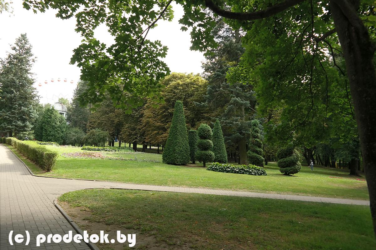 Парк Горького в г. Минске