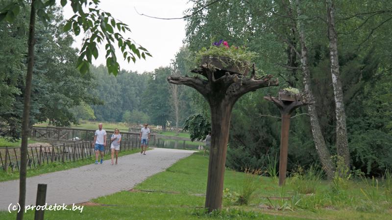 Ботанический сад в г. Минске